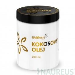 Szűz kókuszolaj, BIO, 300 ml, Wolfberry *