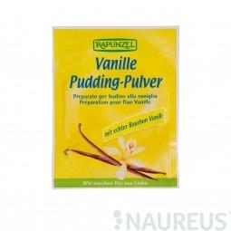 Pudingpor, vaníliás, BIO, 40 g, Rapunzel *