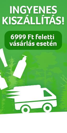 Igyenes kiszállítás - 6999 Ft feletti vásárlás esetén