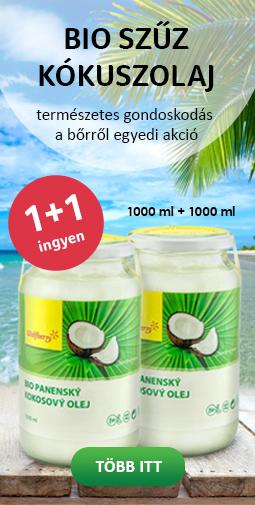 kokosový olej 1+1