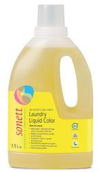 SONETT Folyékony mosószer színes ruhákhoz, COLOR, 1,5 l