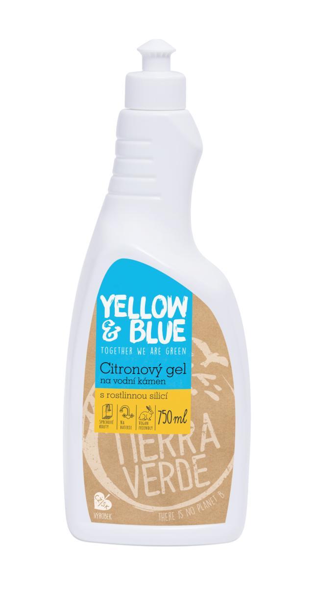 Citromos zselés tisztítószer vízkőre, 750 ml (flakon)