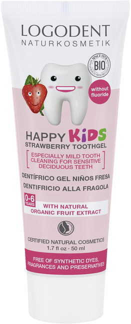 Happy Kids foggél, eper
