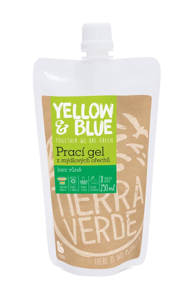 Mosógél mosódióból, illatmentes, 250 ml (kupakos tasak)