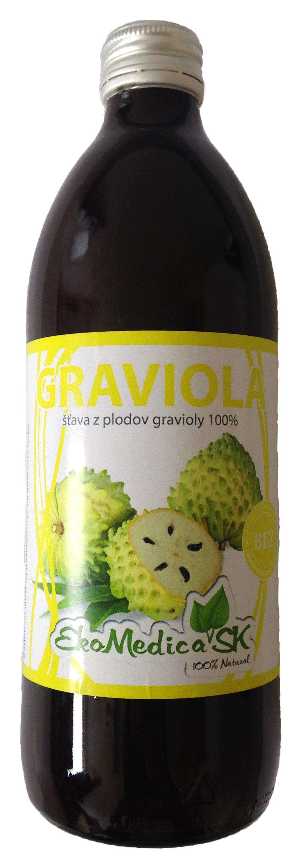 100%-os graviolalé - 500 ml